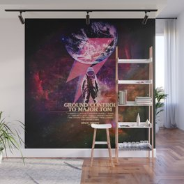 Rocket man (former Space Oddity) Wall Mural