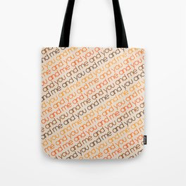 You and Me Golden Tote Bag