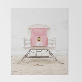 Pink Tower 6 Throw Blanket