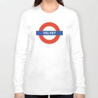 velvet underground Long Sleeve T-shirts featuring Velvet Underground by WALRUS