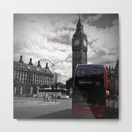 Sightseeing-London Metal Print