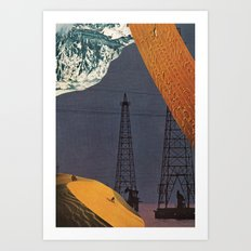 gold dream Art Print