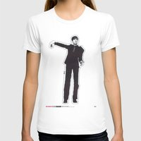 les mis T-shirts featuring Mis-Shapes by Popp Art