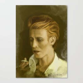 The Duke Portrait Canvas Print
