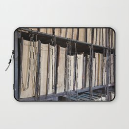 Books in chains Laptop Sleeve