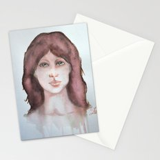 Watercolor smile Stationery Cards