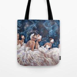 Ballerina Constellation Tote Bag
