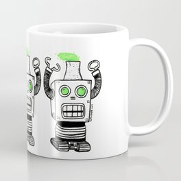 Robo-Meltdown Coffee Mug