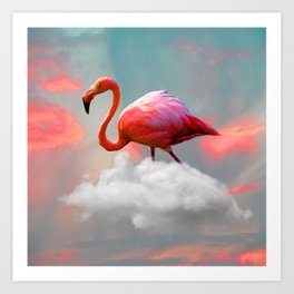 My Home up to the Clouds Art Print