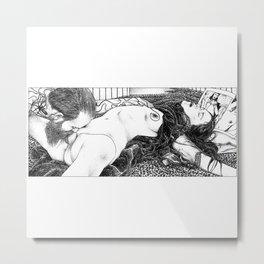 asc 788 - Le sang d'encre (Octopus blood) Metal Print