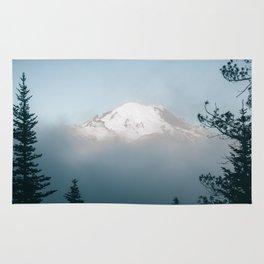 Mount Rainier VIII Rug