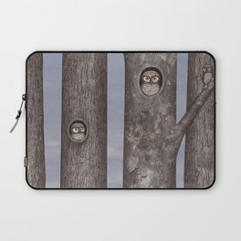 owls in trees Laptop Sleeve