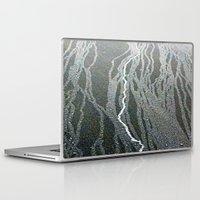 lightning Laptop & iPad Skins featuring Lightning  by Ethna Gillespie
