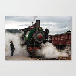 Black Hills Central Railroad #104 Canvas Print