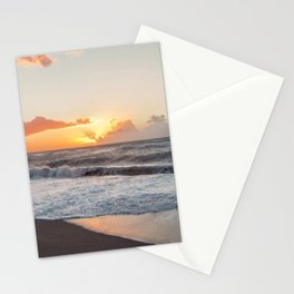 That warmth that remains in your heart after a sunset... Stationery Cards