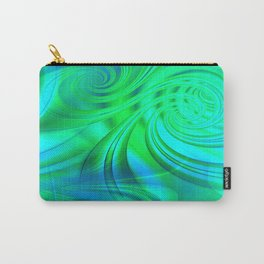 Infinite Loop (green-blue) Carry-All Pouch