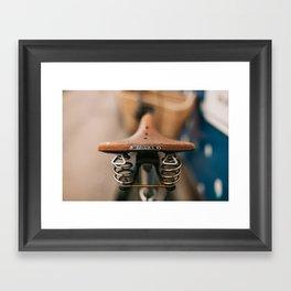 Brooks Bike Framed Art Print