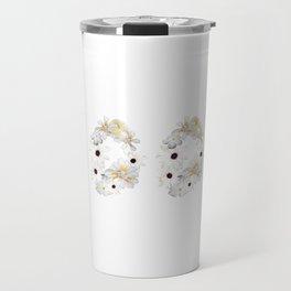 White Flower 2003 Travel Mug