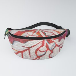 Leaves on the World Tree: Basques Oak Fanny Pack