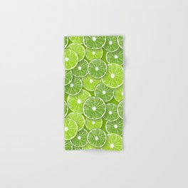 Lime pop Hand & Bath Towel