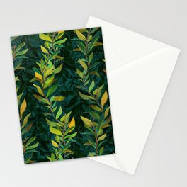 Pond Seaweed Pattern by Robert Phelps Stationery Cards