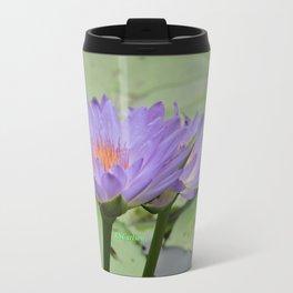 Blue Water Lilies in Hangzhou Travel Mug