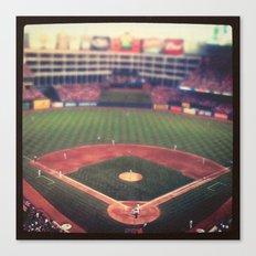 At the Ballpark   Canvas Print