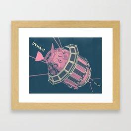Luna-3 Framed Art Print