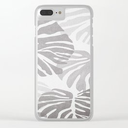 MONSTERA BNW1 Clear iPhone Case