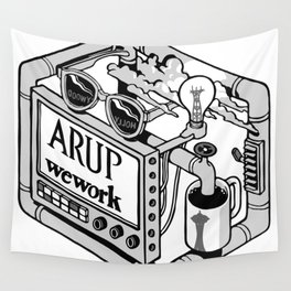 Arup WeWork West Project Patch Wall Tapestry