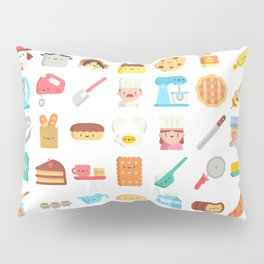 CUTE BAKERY PATTERN (CUTE CHEF BAKER) Pillow Sham