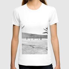 deadvlei desert trees acrbw T-shirt