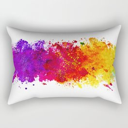 Color me blind Rectangular Pillow