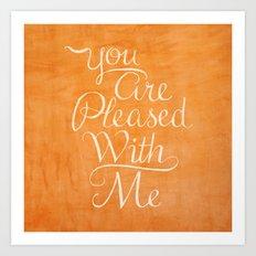 Psalm 41 Art Print