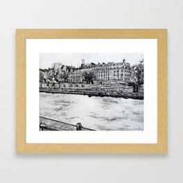 La Seine I Framed Art Print