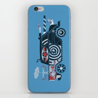 tank girl iPhone & iPod Skins featuring Vantastic Tank Girl by Brandon Ortwein