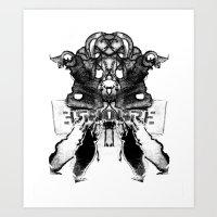 ERGOGRE Art Print