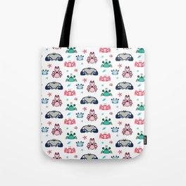 Crabs Pattern Tote Bag
