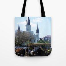 New Orleans Castle Tote Bag