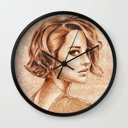Marion Cotillard Wall Clock