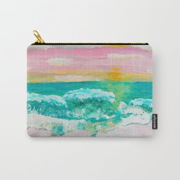 Pink Sand Sunset Carry-All Pouch