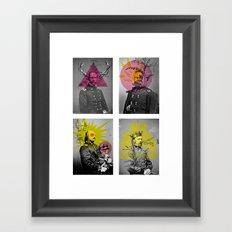 Civility Framed Art Print