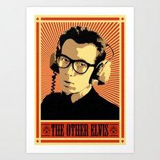 The Other Elvis Art Print