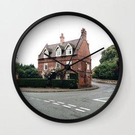 British Architecture Wall Clock