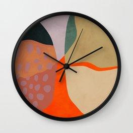 shapes abstract study Wall Clock