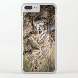 Time out. Clear iPhone Case