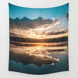 shadow of the day Wall Tapestry