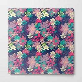 Colorful Garden Metal Print