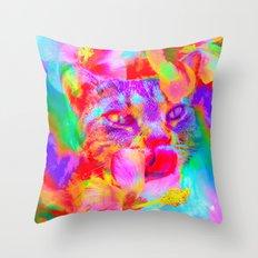 Hibiscus-Lady Jasmine  Throw Pillow