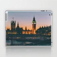 London during Sunset on the Water Laptop & iPad Skin